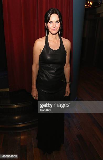 Courteney Cox attends the 'Just Before I Go' Premiere after party during the 2014 Tribeca Film Festival sponsored by Bombay Sapphire at The Flatiron...