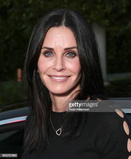 Courteney Cox attends the UCLA Institute Of The Environment And Sustainability Celebrates Innovators For A Healthy Planet on March 13 2017 in Beverly...