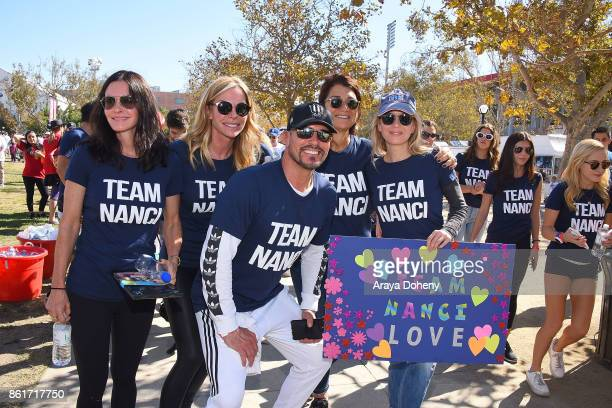 Courteney Cox Cindy Ambuehl Don Diamont and Renee Zellweger attend the 15th Annual LA County Walk To Defeat ALS with Nanci Ryder 'Team Nanci' at...