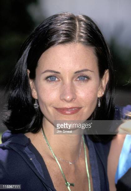 Courteney Cox during 9th Annual 'A Time For Heroes' Elizabeth Glaser Pediatric AIDS Foundation Benefit at Home Of Ken Roberts in Brentwood California...