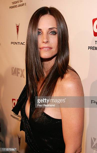 Courteney Cox during 'Dirt' Hollywood Premiere Arrivals and After Party in Hollywood California United States