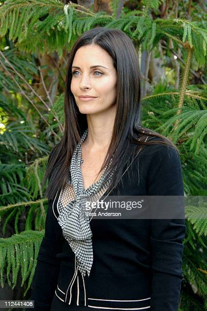 Courteney Cox during 'Dirt' Press Conference with Courteney Cox and David Arquette February 27 2007 at Four Seasons in Beverly Hills California...