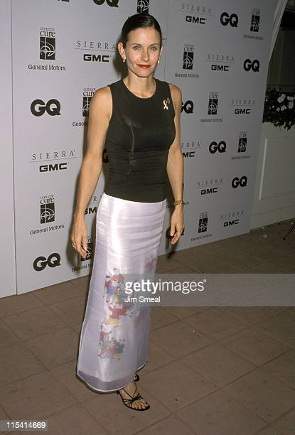 Courteney Cox during 'Men for the Cure' Benefit Hosted by the Arquette Family at Eurochow Restaurant in Westwood California United States