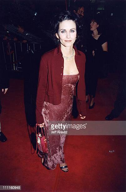 "Courteney Cox during ""Scream 2"" - Hollywood Premiere in Hollywood, California, United States."
