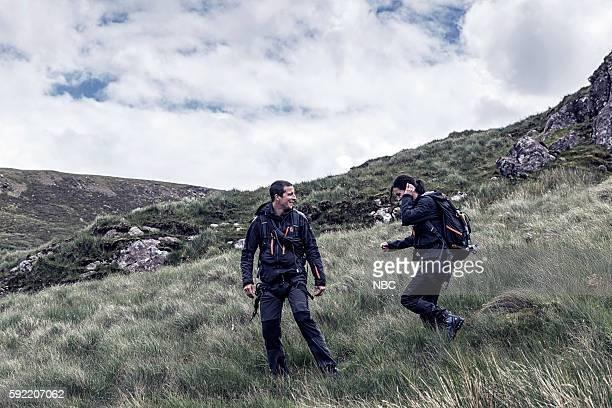 GRYLLS 'Courteney Cox' Episode 306 Pictured Bear Grylls Courteney Cox