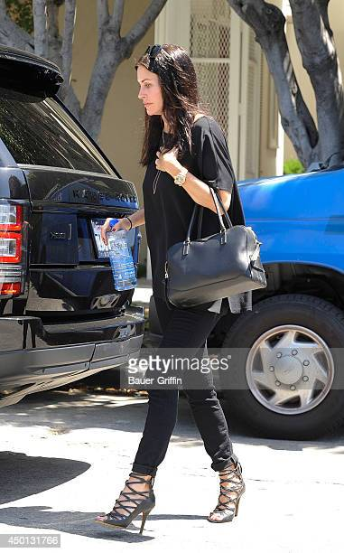Courteney Cox is seen on June 05 2014 in Los Angeles California