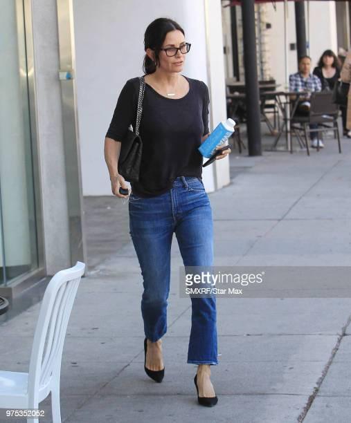 Courteney Cox is seen on June 14 2018 in Los Angeles CA