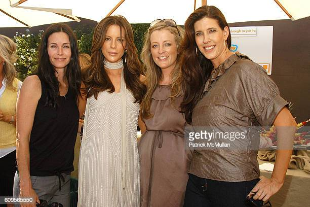 Courteney Cox, Kate Beckinsale, Shannon Swanson and Liane Weintraub attend Stella McCartney and Tasty baby Afternoon of Fun, Fashion and Food at...
