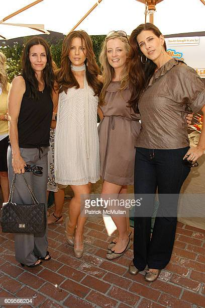 Courteney Cox Kate Beckinsale Shannon Swanson and Liane Weintraub attend Stella McCartney and Tasty baby Afternoon of Fun Fashion and Food at Stella...