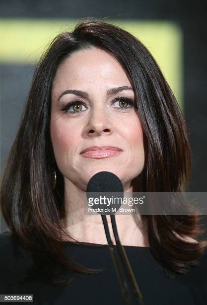 Courteney Monroe CEO National Geographic Channel introduces the He Named Me Malala panel as part of the National Geographic Channel portion of This...