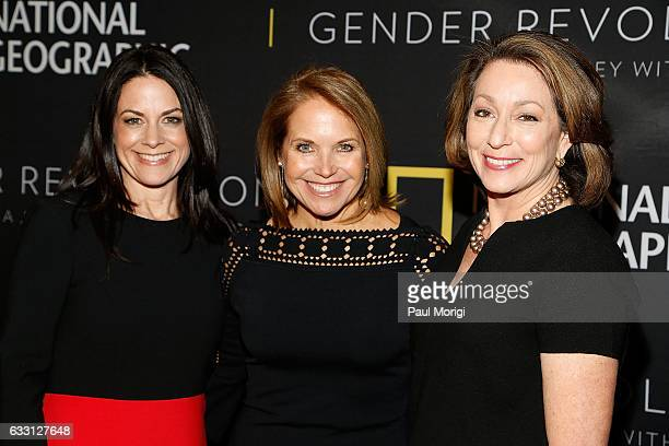 Courteney Monroe CEO National Geographic Networks Katie Couric Host and Executive Producer and Susan Goldberg EditorinChief National Geographic...