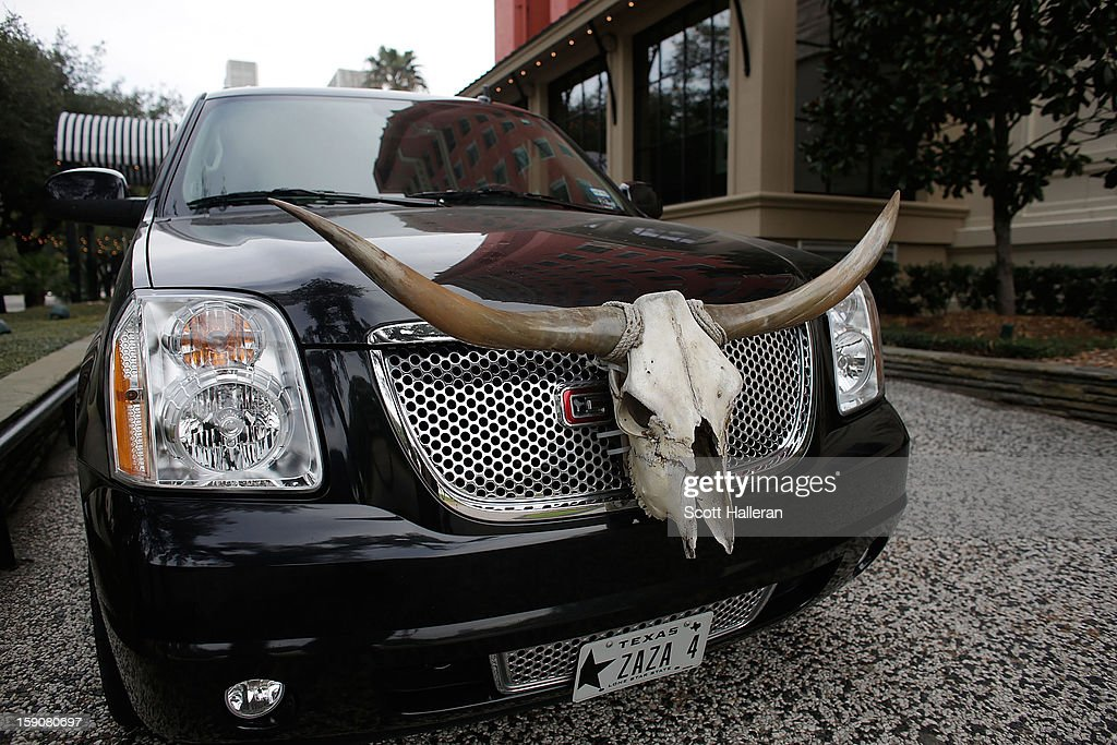 A courtesy car is seen in front of the Houston museum district Hotel Zaza on January 7, 2013 in Houston, Texas. Houston's success with job growth in recent years has placed the city among the top markets in the country for elevated income levels, according to reports.