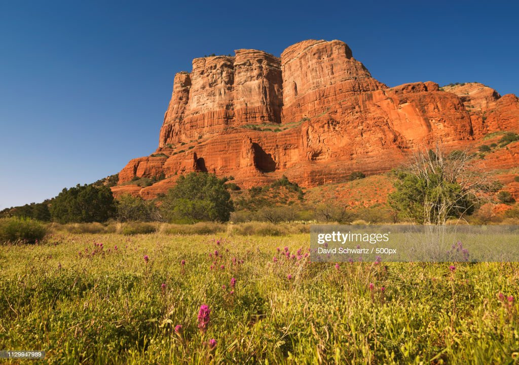 Courthouse Butte : ストックフォト