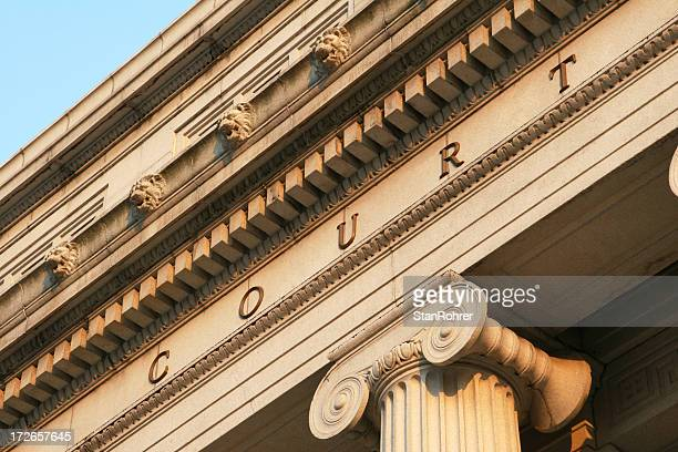 Courthouse Detail, Law, Legal, Court