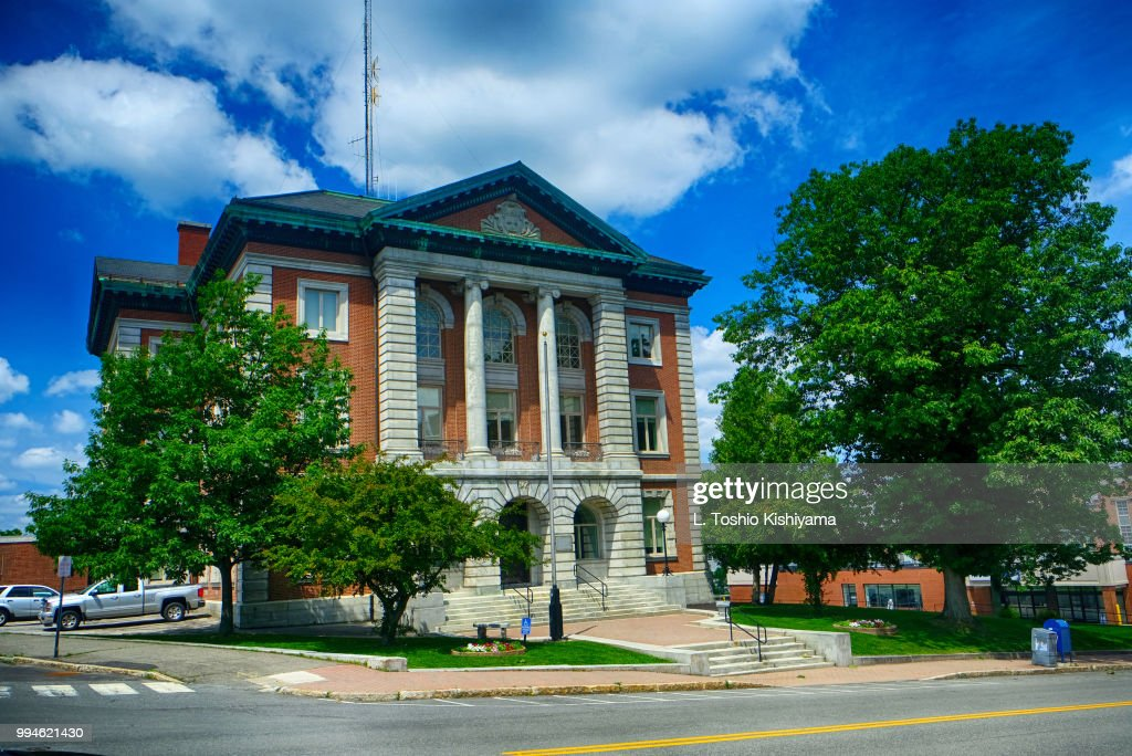 Courthouse in Bangor, Maine : Stock Photo