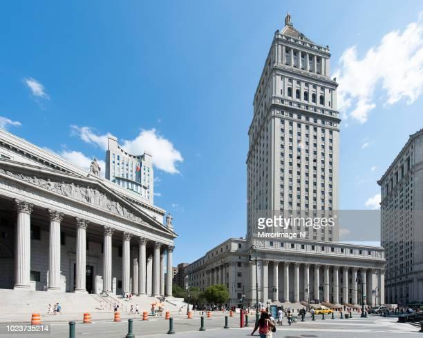 マンハッタンの裁判所 - ニューヨーク郡 ストックフォトと画像