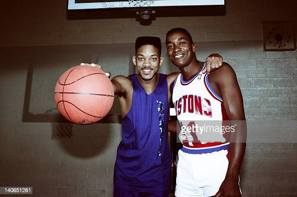 AIR 'Courting Disaster' Episode 11 Pictured Will Smith as William 'Will' Smith Isiah Thomas as Himself Photo by Joseph Del Valle/NBCU Photo Bank