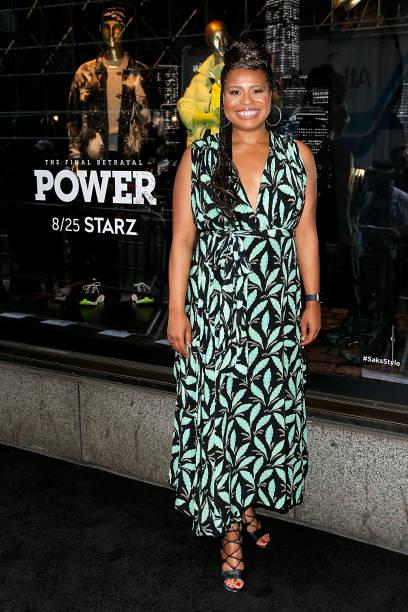 "NY: Cast Of ""Power"" Celebrates Saks Fifth Avenue Window For Final Season"