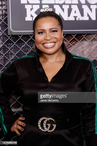 Courtney A. Kemp attends 'Power Book III: Raising Kanan' global premiere event and screening at Hammerstein Ballroom on July 15, 2021 in New York...