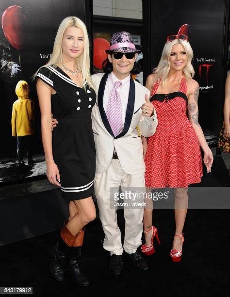 Courtney Anne Feldman and Corey Feldman attend the premiere of It at TCL Chinese Theatre on September 5 2017 in Hollywood California