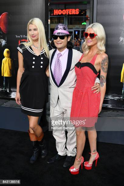 Courtney Anne Feldman and Corey Feldman attend the premiere of Warner Bros Pictures and New Line Cinema's It at the TCL Chinese Theatre on September...