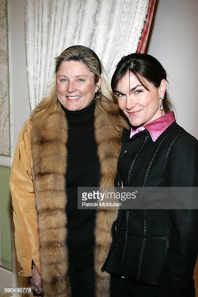 Courtney Arnot and Sallie Giordano attend A Cocktail Reception to KickOff The Associate's Committee of The Society of Memorial SloanKettering Cancer...