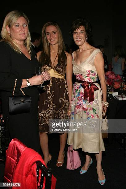 Courtney Arnot Molly Friedman and Peggy Siegal attend Carolina Herrera and Cartier Aces Are Wild Annual Gambling Party at Skylight Studios on May 12...