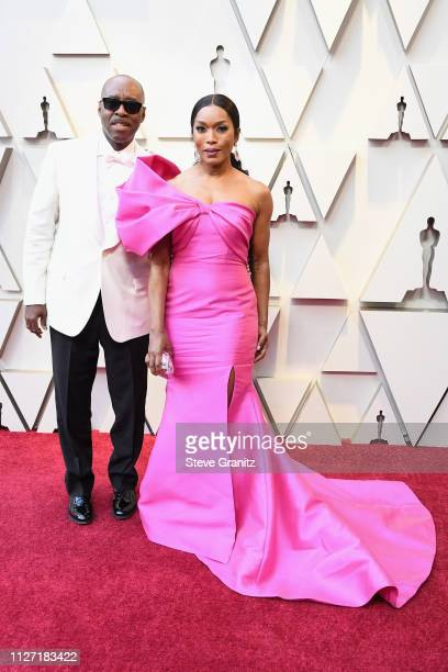 Courtney B Vance and Angela Basset attend the 91st Annual Academy Awards at Hollywood and Highland on February 24 2019 in Hollywood California
