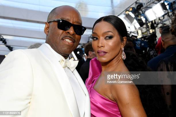 Courtney B Vance and Angela Bassett attend the 91st Annual Academy Awards at Hollywood and Highland on February 24 2019 in Hollywood California