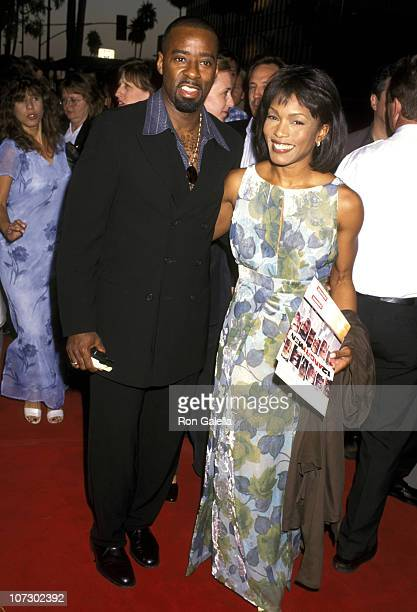 Courtney B Vance and Angela Bassett during Showtime's '12 Angry Men' Premiere Beverly Hills at Samuel Goldwyn Theater in Beverly Hills CA United...