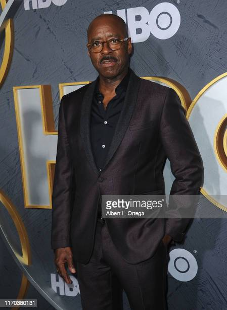 Courtney B. Vance arrives for the HBO's Post Emmy Awards Reception held at The Plaza at the Pacific Design Center on September 22, 2019 in West...