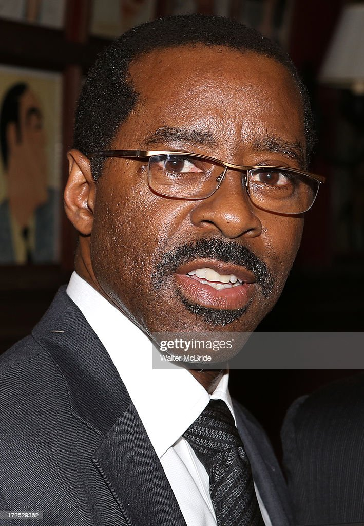 Courtney B. Vance attends Courtney B. Vance's Caricature Unveiling at Sardi's on July 2, 2013 in New York City.