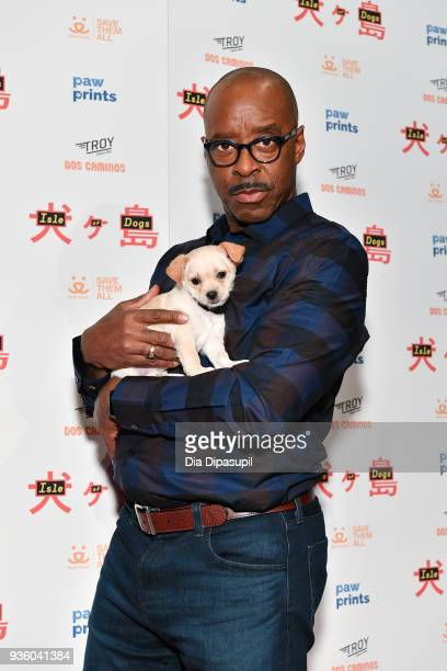 Courtney B Vance attends the 'Isle of Dogs' special screening at IFC Center on March 21 2018 in New York City