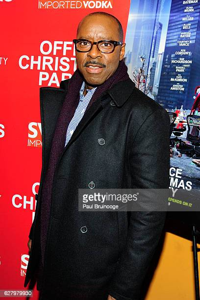 "Courtney B. Vance attends the Paramount Pictures with Paramount Pictures with The Cinema Society & Svedka Host a Screening of ""Office Christmas..."