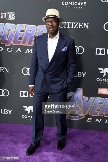 Courtney B Vance attends the world premiere of Walt Disney Studios Motion Pictures 'Avengers Endgame' at the Los Angeles Convention Center on April...