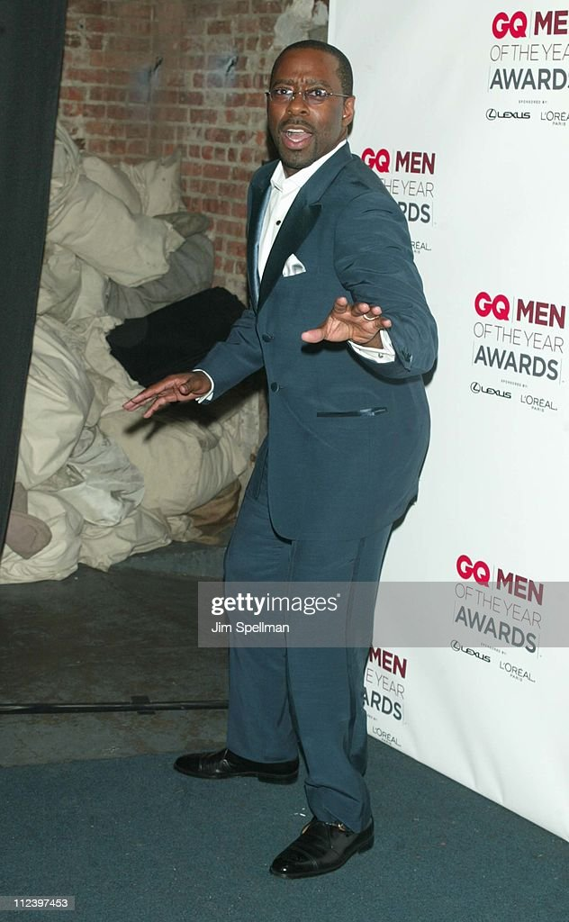 Courtney B. Vance during 2002 GQ Men of the Year Awards - Press Room at Hammerstein Ballroom in New York City, New York, United States.