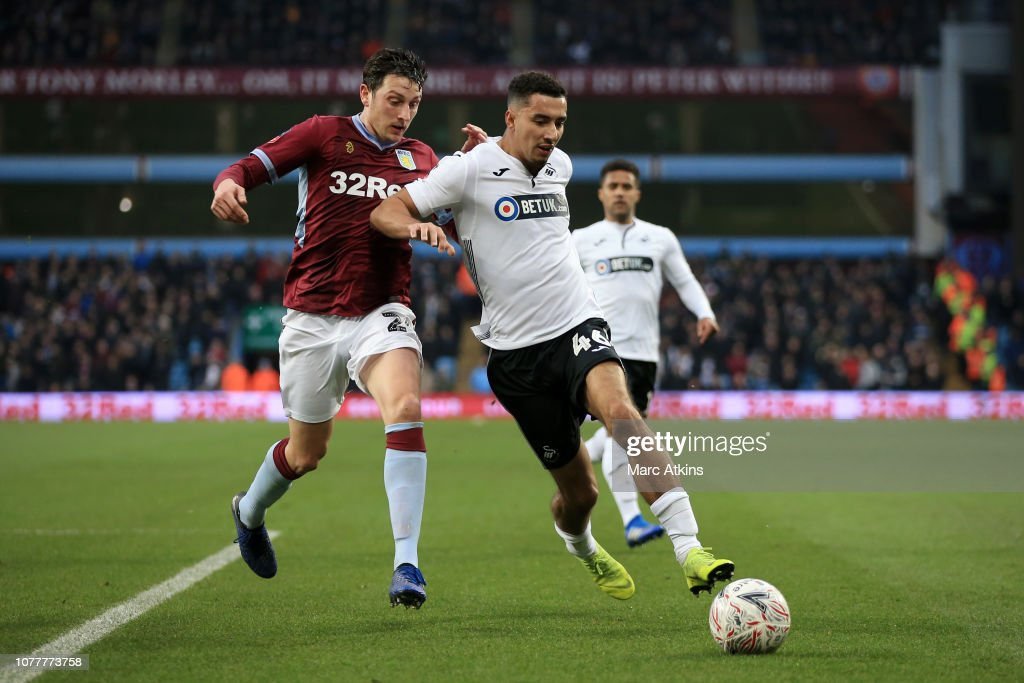 Aston Villa v Swansea City - FA Cup Third Round : News Photo