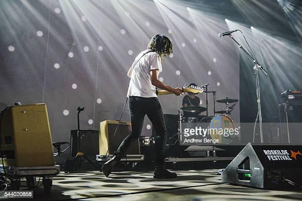 Courtney Barnett performs on the Avalon stage during Roskilde Festival 2016 on June 30, 2016 in Roskilde, Denmark.