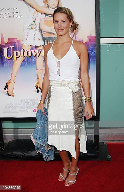 Courtney Brooke Wagner during Uptown Girls Los Angeles Premiere at ArcLight Cinerama Dome in Hollywood California United States