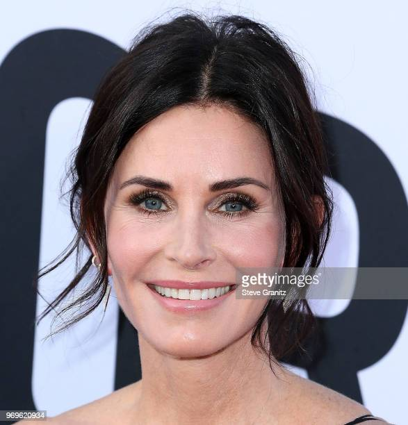 Courtney Cox arrives at the American Film Institute's 46th Life Achievement Award Gala Tribute To George Clooney on June 7 2018 in Hollywood...