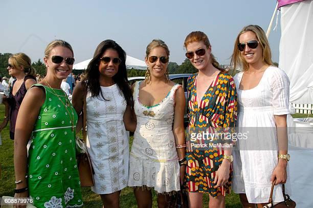 Courtney Crawford Elizabeth Meigher Nicole Hanley Annabelle Bartanian and Joanna Baker attend TMobile Sidekick Lounge at MercedesBenz Polo Challenge...