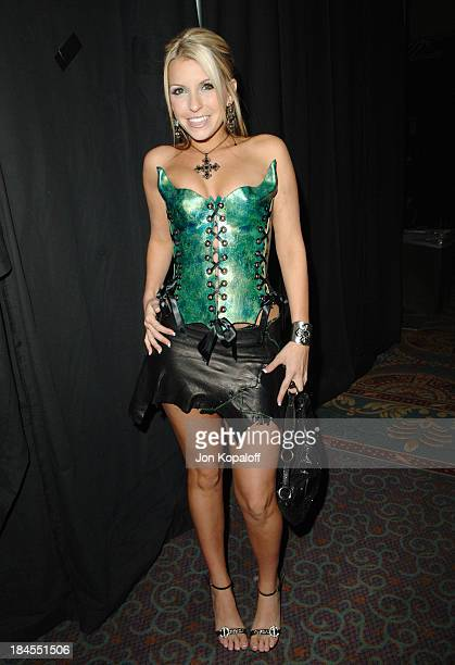 Courtney Cummz Zero Tolerance Contract Performer during 2006 AVN Awards Arrivals and Backstage at The Venetian Hotel in Las Vegas Nevada United States