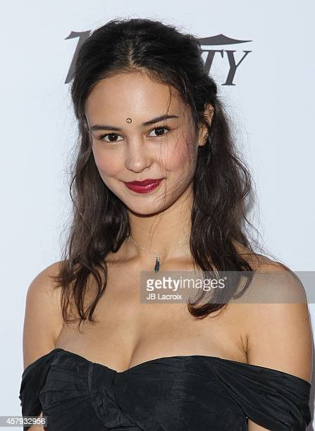 Courtney Easton attends the 3rd Annual Australians in Film Awards Benefit Gala at the Fairmont Miramar Hotel on October 26 2014 in Santa Monica...