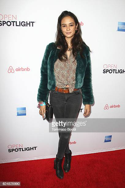 Courtney Eaton attends the 3rd Annual Airbnb Open Spotlight at Various Locations on November 19, 2016 in Los Angeles, California.