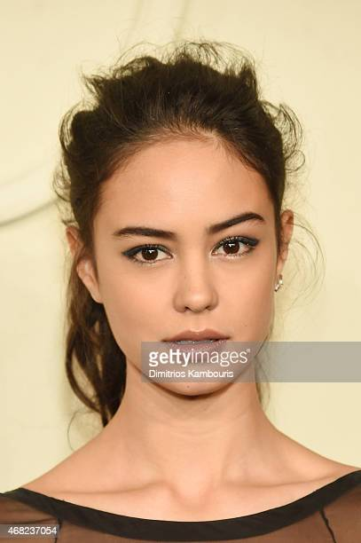 Courtney Eaton attends the CHANEL ParisSalzburg 2014/15 Metiers d'Art Collection at Park Avenue Armory on March 31 2015 in New York City