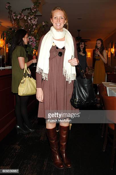 Courtney Fitzpatrick attends PRAIRIE NEW YORK by Danielle Shriber Luncheon at Amaranth on March 28 2007 in New York City