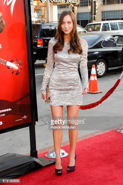Courtney Ford attends Scott Pilgrim Vs The World Los Angeles Premiere at Grauman's Chinese Theatre on July 27 2010 in Hollywood CA