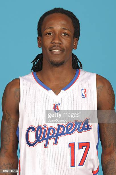 Courtney Fortson of the Los Angeles Clippers poses for a photo during Media Day at the Clippers Training Center on December 13 2011 in Playa Vista...