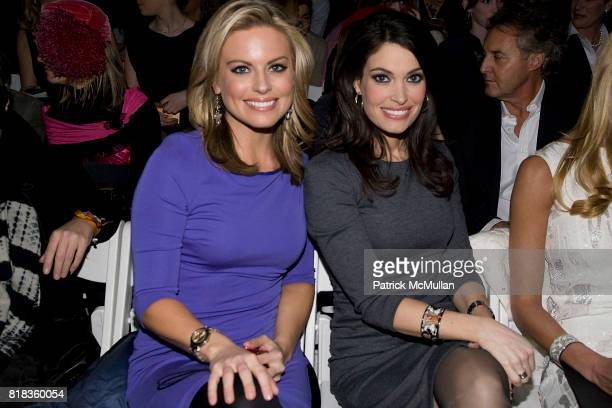 Courtney Friel and Kimberley Guilfoyle attend NICOLE MILLER Fall 2010 Collection at Bryant Park Tents on February 12 2010 in New York City