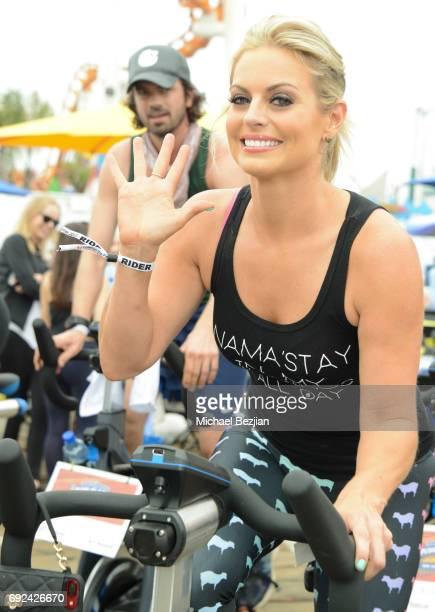 Courtney Friel attends Pedal On The Pier at Santa Monica Pier on June 4 2017 in Santa Monica California
